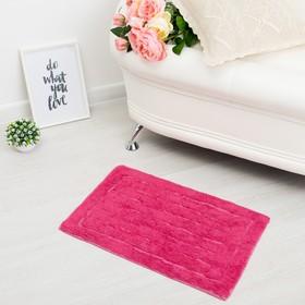 Ковер «ГАММА», 40х60 ± 3 см, цвет розовый.