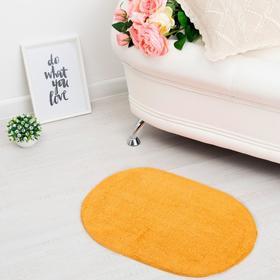 "Carpet oval ""ANIKA"", 40x60 ± 3 cm, color orange."