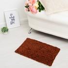 "Carpet ""SONATA"", 40x60 ± 3 cm, color red."