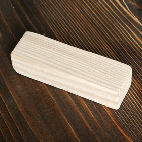 Брусок деревянный для творчества, сосна, 130 х 45 х 30 мм