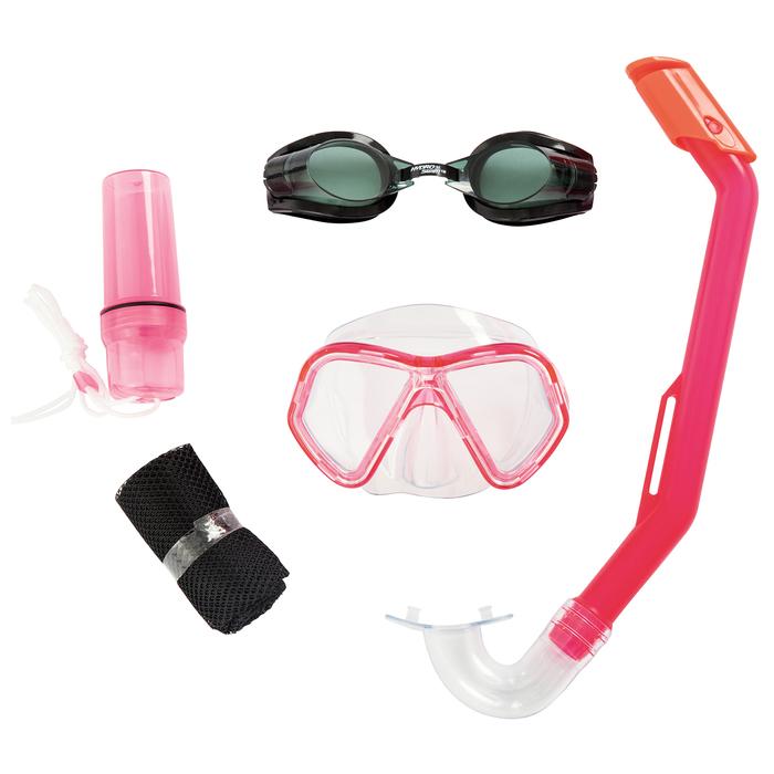 Набор для плавания Lil' Barracuda, (маска, очки, трубка), от 3 лет, 24031 Bestway