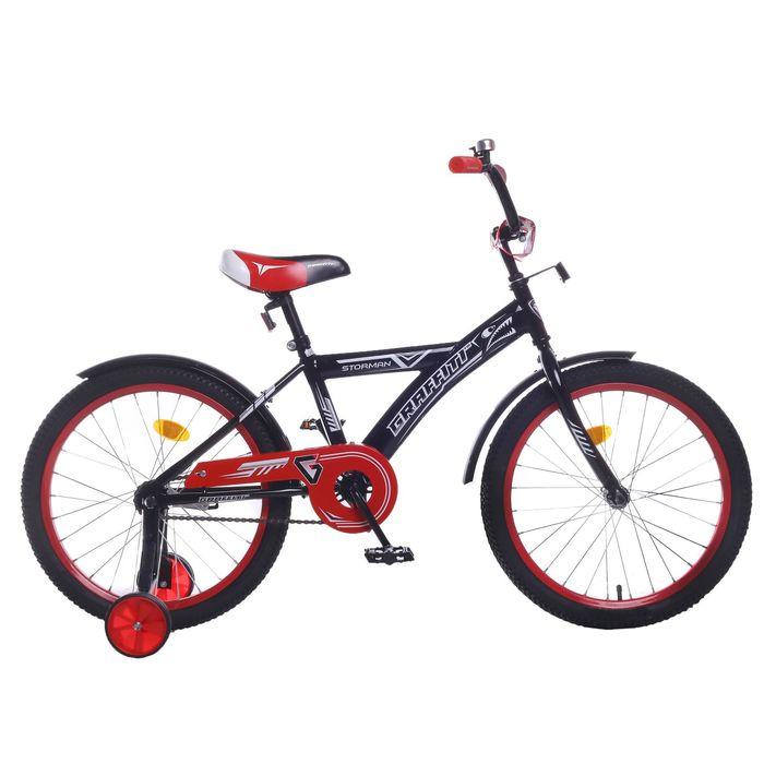 """Велосипед 20"""" Graffiti Storman RUS 2019, цвет чёрный"""
