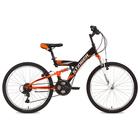 """Велосипед 24"""" Stinger Banzai, 2018, цвет чёрный, размер 14"""""""