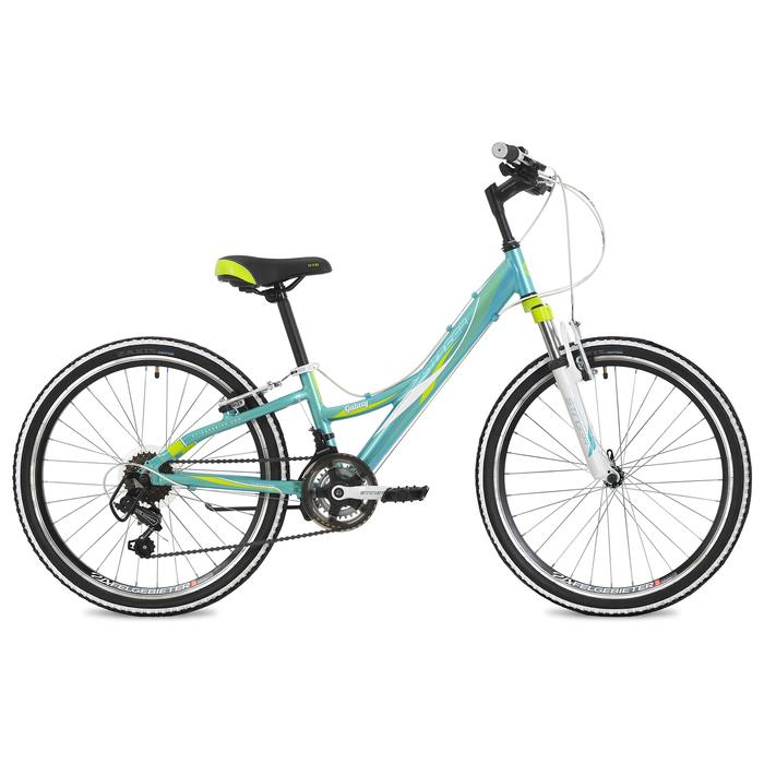 "Велосипед 24"" Stinger Galaxy, 2018, цвет синий, размер 11"""