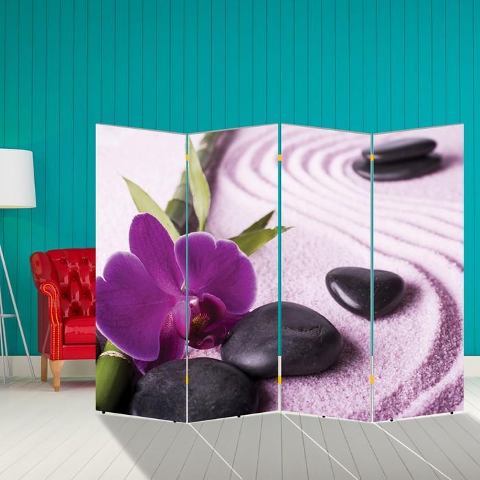 """Ширма """"Бамбук. Декор 8"""" 200 × 160 см, двухсторонняя"""