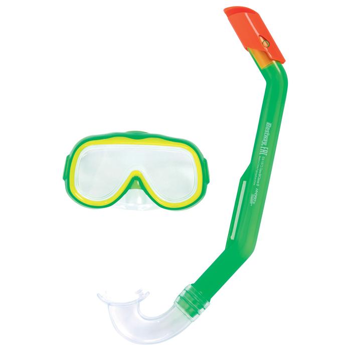 Набор для плавания Lil' Explora, маска, трубка, от 3 лет, МИКС, 24024 Bestway