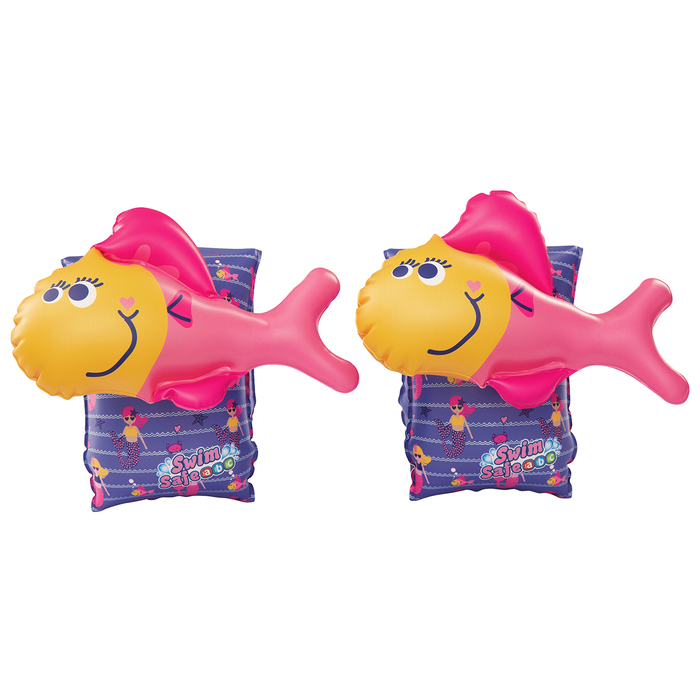 Нарукавники для плавания «Рыбки», от 3-6 лет, МИКС