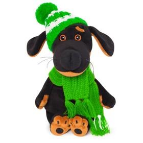 Мягкая игрушка «Ваксон Baby» в шапочке и шарфе, 19 см