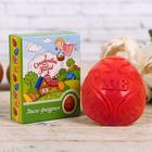 Пасхальное Мыло в форме яйца «Ангелочки», 9,2 х 7,7 х 2,8 см.