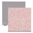 Бумага для скрапбукинга Pink Paislee - Коллекция «AUBURN LANE» - Лист «PAPER 09»