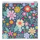 Бумага для скрапбукинга Pink Paislee - Коллекция «Oh my heart» - лист «06»