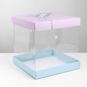 {{photo.Alt || photo.Description || 'Складная коробка под торт Have a nice day, 30 × 30 см'}}