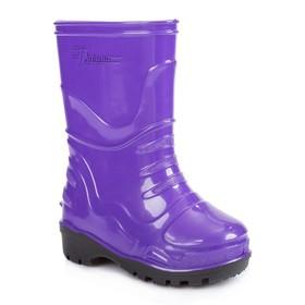 Сапоги детские, цвет фиолетовый, размер 27 (16,5 см)