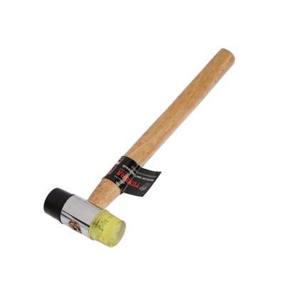 Молоток рихтовочный TUNDRA, бойки 30 мм, деревянная рукоятка