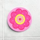 "Sticker for play in the bathtub, ""Flower"""