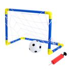 """Ворота футбольные """"Мини-футбол"""", сетка, мяч, насос, размер ворот 60х41х29 см"""