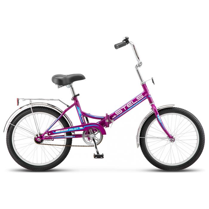 """Велосипед 20"""" Stels Pilot-410, Z011, цвет фиолетовый, размер 13,5"""""""