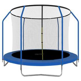 Батут ONLITOP, d=305 см, с внутренней защитной сеткой 173 см, цвет синий