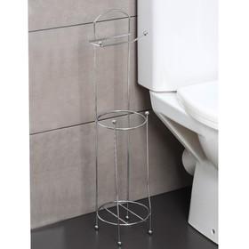"Держатель для туалетной бумаги 20х14х63,5 см ""Модерн"""