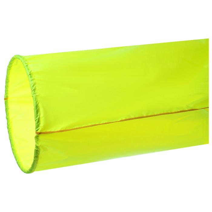 Тоннель для эстафет, длина 335 см, 1 кольцо диаметром 76 см, цвет салатовый