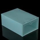 Короб для хранения 22х31х13 см, цвет бирюзовый