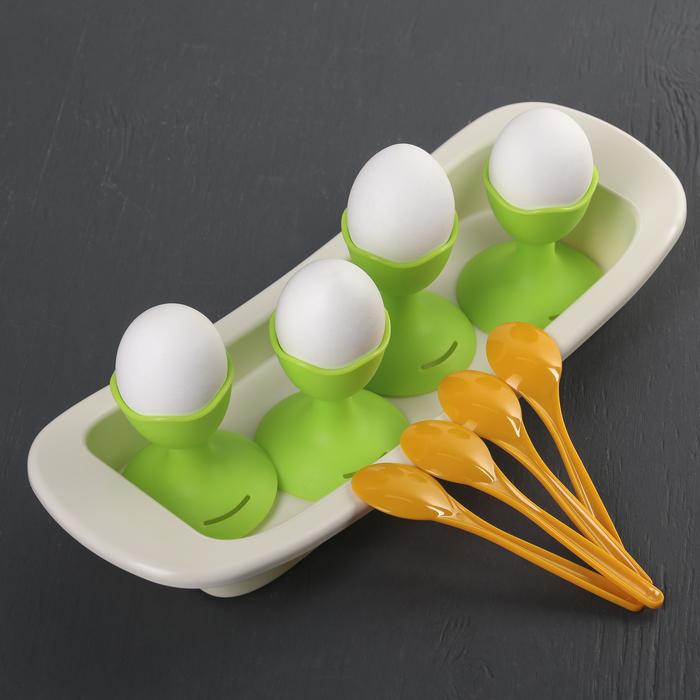 Подставки для яиц Solo, цвет салатовый