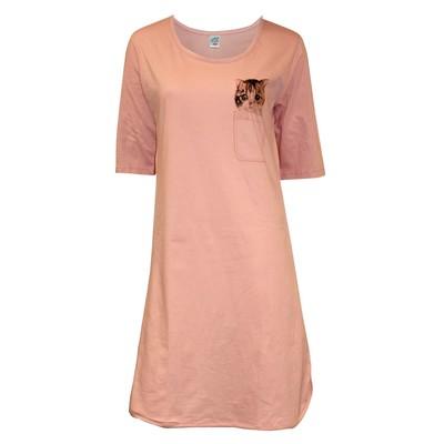 Платье женское 31155, цвет оранжевый, р-р 44