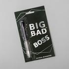 """Ручка, фонарик """"Big Boss"""" цвет черный"""