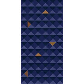 """Декор """"Осло"""", синий 10-04-65-1080-1 500х250"""