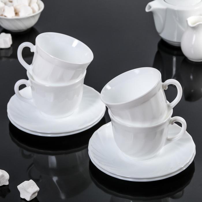 Сервиз чайный на 4 персоны 280 мл Trianon