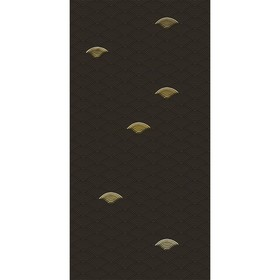 "Декор ""Токио"", коричневый 10-05-15-1065-0 500х250"