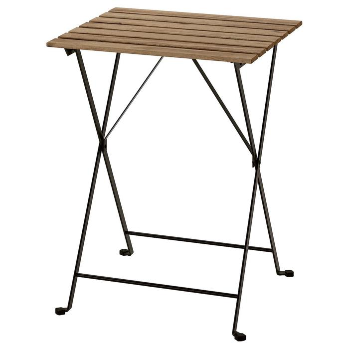 Стол ТЭРНО, серо-коричневая морилка