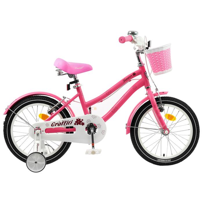 "Велосипед 20"" Graffiti Flower, цвет розовый"