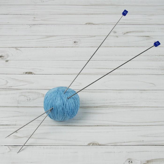 Спицы для вязания, прямые, d = 2 мм, 40 см, 2 шт