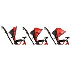 """Велосипед трёхколёсный Micio Classic Air, надувные колёса 10""""/8"""", цвет красный - фото 105546800"""