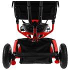 """Велосипед трёхколёсный Micio Classic Air, надувные колёса 10""""/8"""", цвет красный - фото 105546805"""