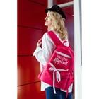 Рюкзак школьный, отдел на молнии, наружный карман, цвет розовый