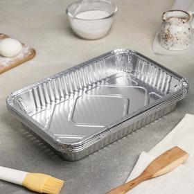 A set of forms for baking foil 31x21x5 cm, 10 PCs