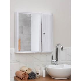 Набор для ванной комнаты Hilton Premium Right, цвет белый - фото 4651389
