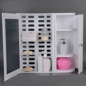Набор для ванной комнаты Hilton Premium Right, цвет белый - фото 4651392
