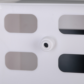 Набор для ванной комнаты Hilton Premium Right, цвет белый - фото 4651394