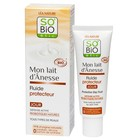 Защитный дневной флюид SO'BiO etic с ослиным молоком, 50 мл