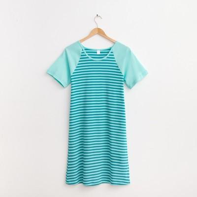 Платье женское 30135, цвет зелёный, р-р 44