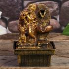 "The fountain table from the network ""Siva and the bull Nandi"" 18х12х12 cm"