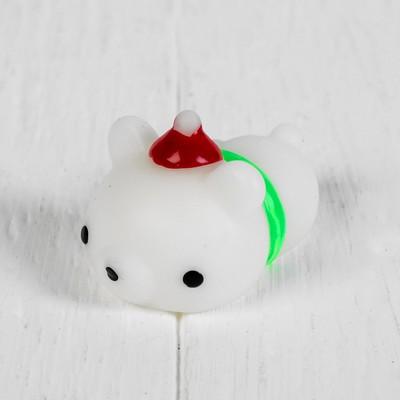 Мялка-антистресс «Белый мишка»