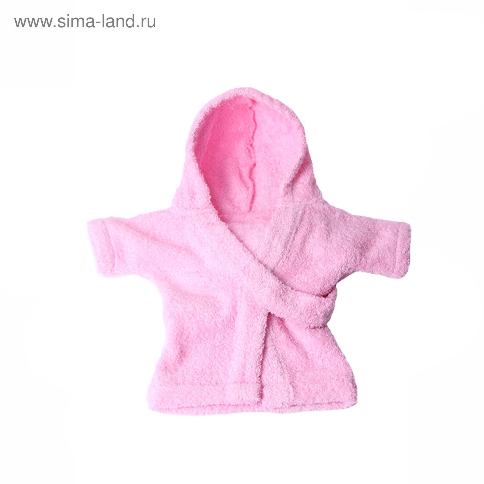 c6527f54e415f Халат Pretty Pet, размер S (ДС 23-25 см, ОГ 36-38 см), розовый ...