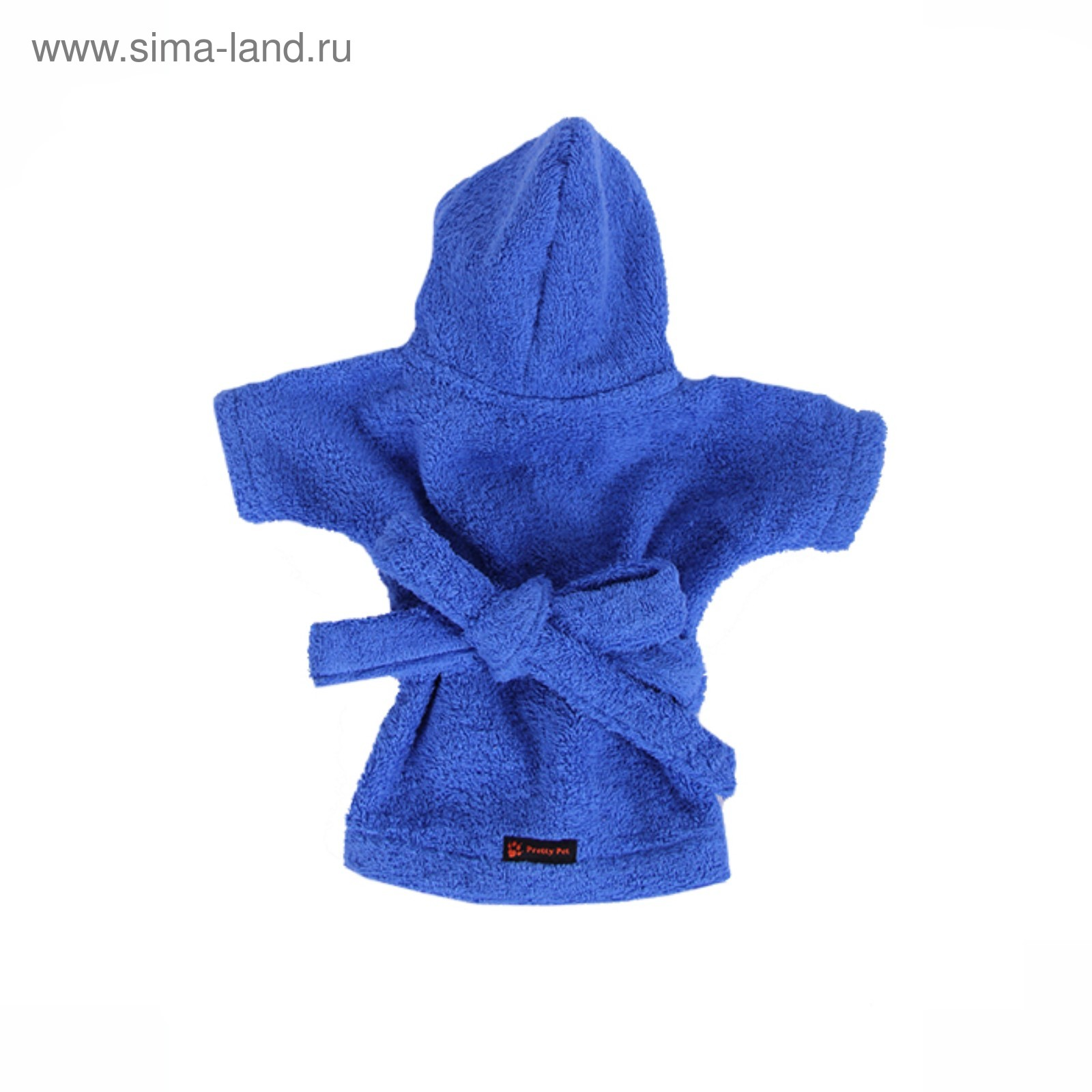 bb708cde87e7c Халат Pretty Pet, размер М (ДС 28-30 см, ОГ 41-43 см), синий ...