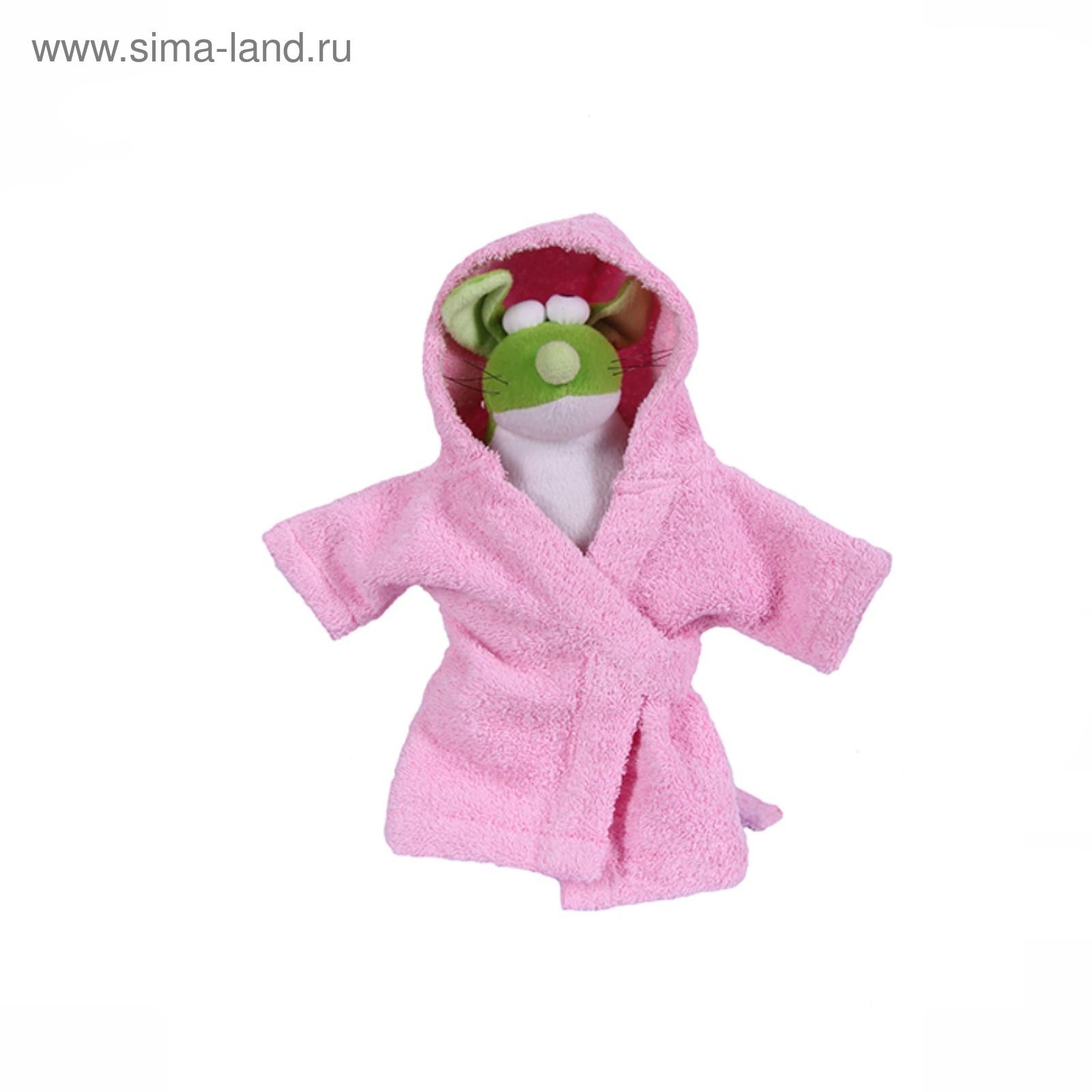 5ae344a064f7b Халат Pretty Pet, размер М (ДС 28-30 см, ОГ 41-43 см), розовый ...