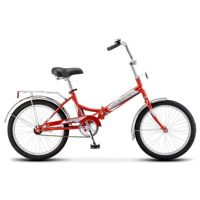 """Велосипед 20"""" Десна-2200, Z011, цвет красный, размер 13,5"""""""