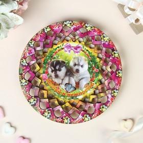 """Тарелка конфетница """"Любви и нежности"""", 19,5х19,5 см"""